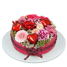 Flower cake Amely