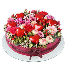 Flower cake Amely XL