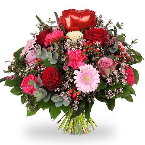 Bouquet Love heart red XL