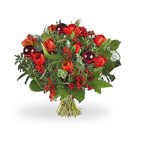 Rode tulpen De Luxe standaard
