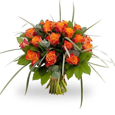 Boeket Rosa Orange groot