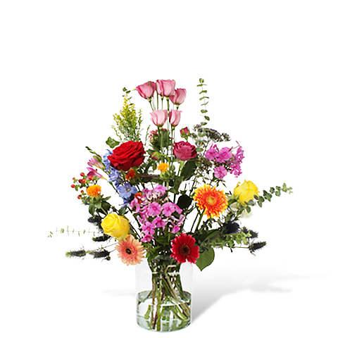 Bouquet Yasmine Standard with vase