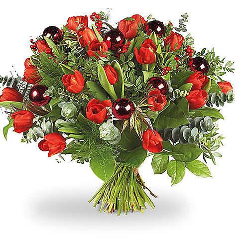 Rode tulpen De Luxe XL