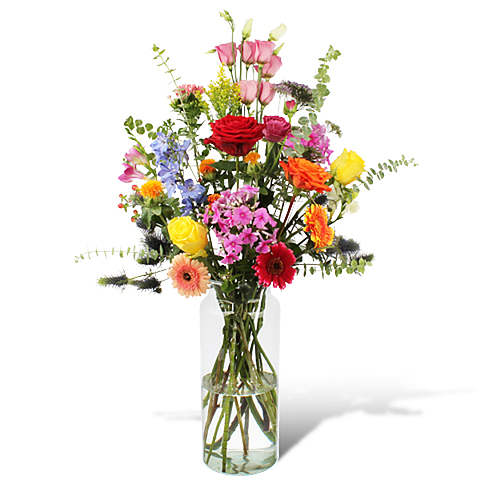 Bouquet Yasmine XL with vase