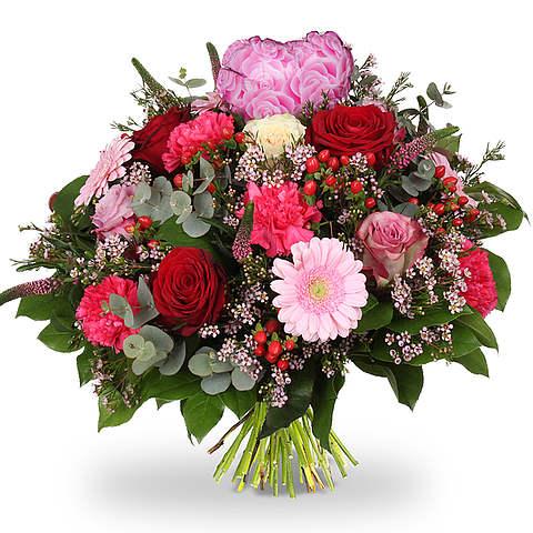 Boeket Love hart roze XL
