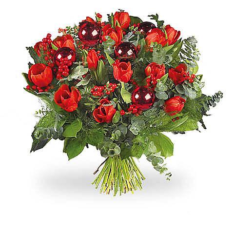 Rode tulpen De Luxe groot