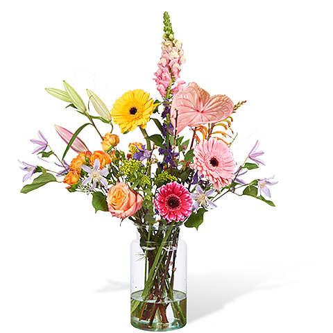 Bouquet Madison large with vase