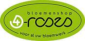 Logo Bloemenshop 4 Roses