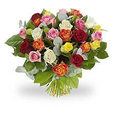 Green florist boeket Rosie