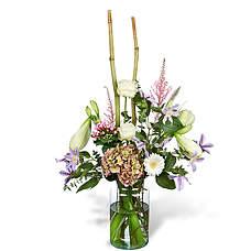 Bouquet Froukje with vase