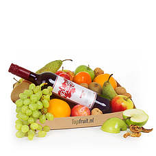 Fruitbasket with Wine