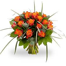 Bouquet Rosa Orange
