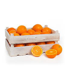 Fruit box orange