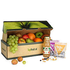 Fruitbox with nuts