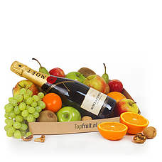 Fruitbasket with Champagne