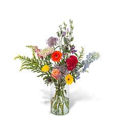 Green florist boeket Flora