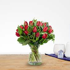 Bouquet Thara red