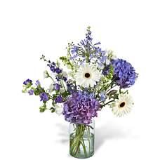 Bouquet Vera with vase