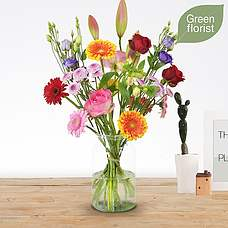 Green florist boeket Danique