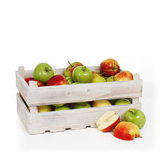 Fruit box apples