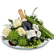 Flower arrangement with Cava