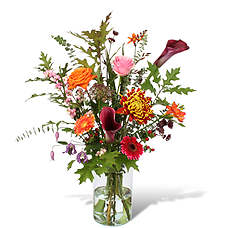Bouquet Nicolle with a vase