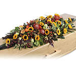 Coffin flower arrangements