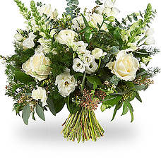 White modern bouquet