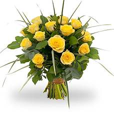 Bouquet Rosa Yellow