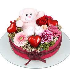 Flowercake Amely + Bear