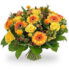 Orange-yellow bouquet