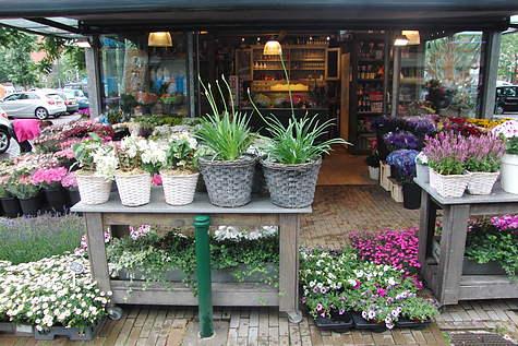 Winkelpand Rosario-bloemen