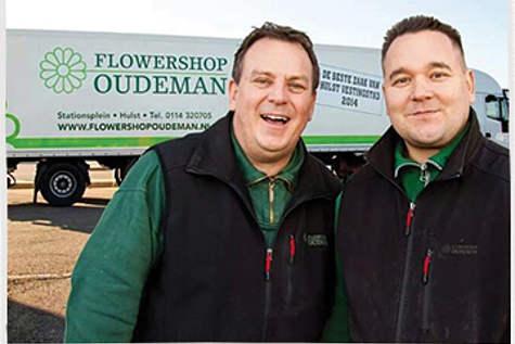 Winkelpand Flowershop Oudeman