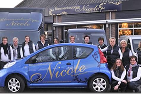 Winkelpand Bloemenboutique Nicole