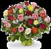 Green florist boeket Rosie XL