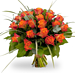 Bouquet Rosa Orange XL