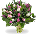 Boeket pastel tulpen XL