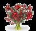 Boeket Amaryllis rood groot