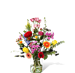 Bouquet Yasmine Standard with vase