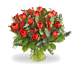 Kerstboeket rode tulpen groot