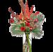 Boeket Samara kerst XL met vaas