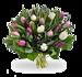 Boeket pastel tulpen groot