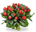 Bouquet red tulips large
