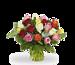 Green florist boeket Rosie standaard