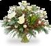 Boeket Dieuwertje kerst standaard