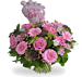 Its a Girl bouquet & balloon XL
