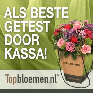 Topbloemen.nl als beste getest door kassa!